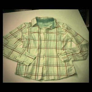 Columbia Omni Shade Flannel Button Up